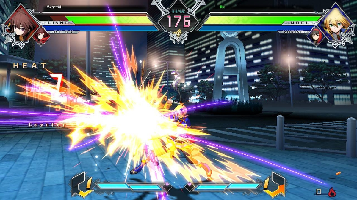 BlazBlue Cross Tag Battle Switch Screenshot 2