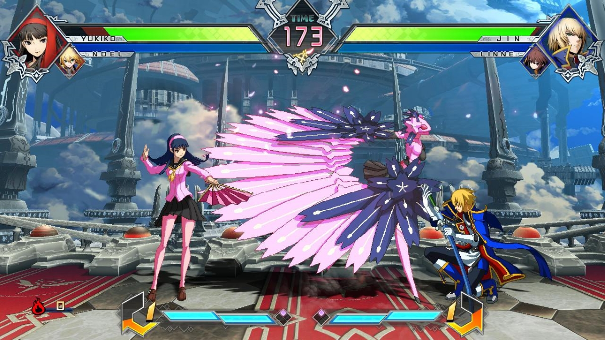 BlazBlue Cross Tag Battle Switch Screenshot 1