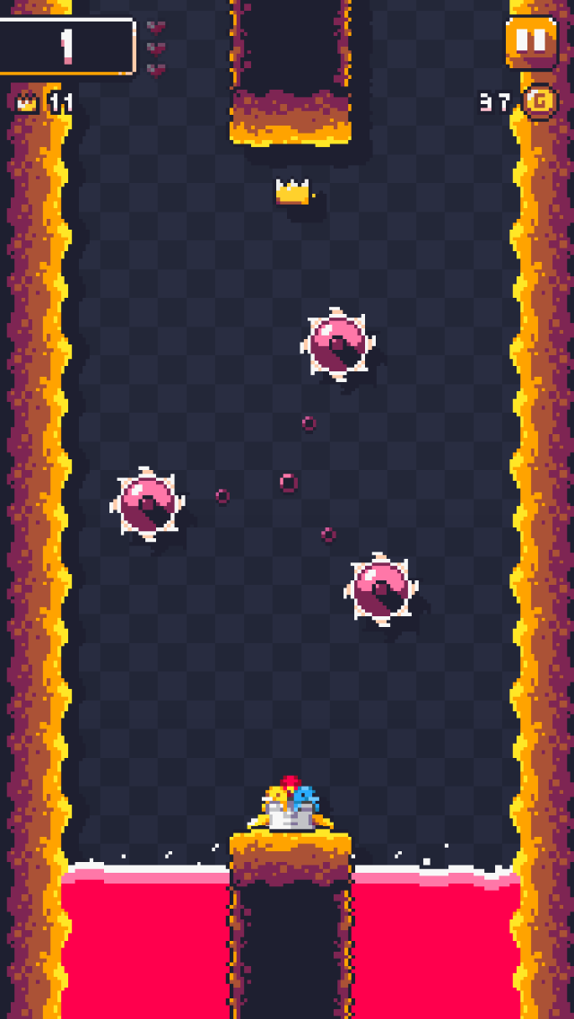 Boost Buddies iOS screenshot - Waiting for the perfect moment to jump