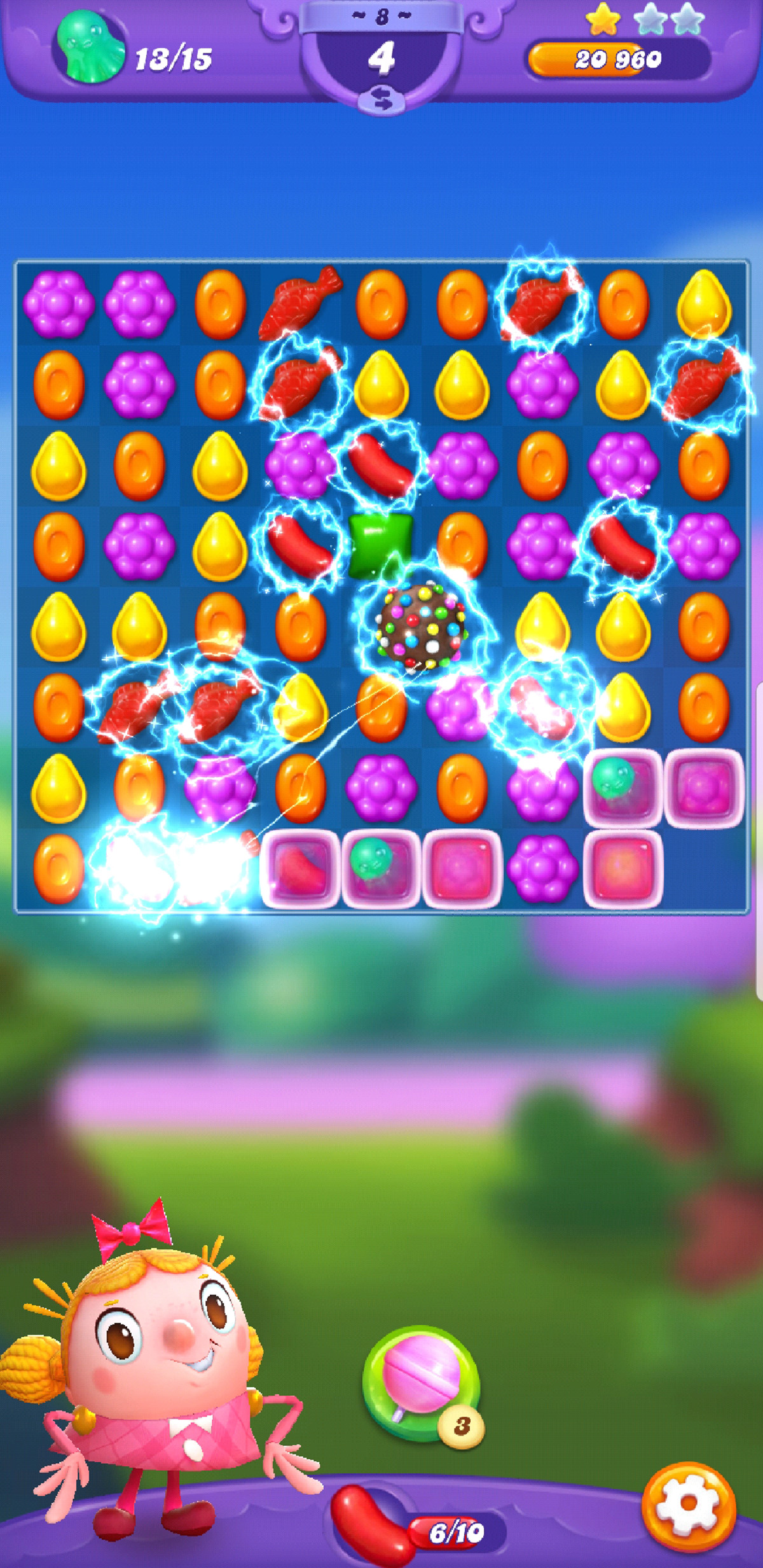Candy Crush Friends Saga cheats and tips - Clearing levels and fast