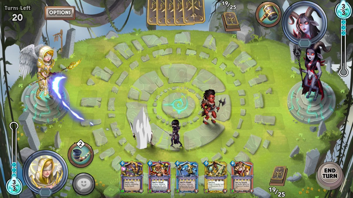 Card Brawl: Duel of Champions is a turn-based RPG/CCG