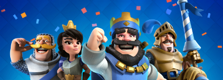 Clash Royale 2nd anniversary banner