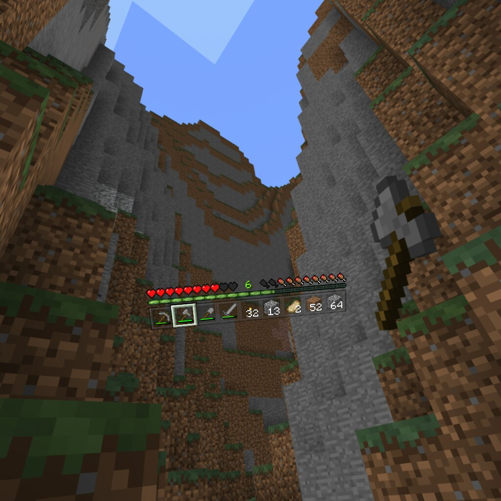 Minecraft for the Gear VR is going to drain your battery