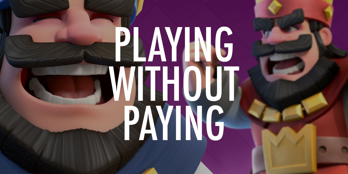 Playing without paying