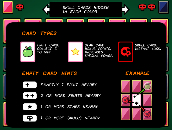 PsyCard is an upcoming mix of card game and Minesweeper by