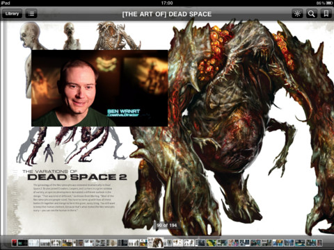 Download The Art of Dead Space from iBooks for behind-the