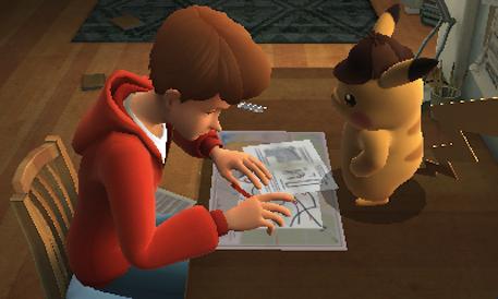 Detective Pikachu 3DS review screenshot 1