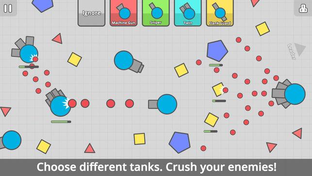 Diep.io iOS screenshot