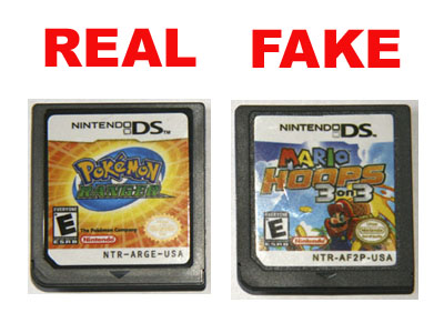 Beware the DS pirates on eBay | Articles | Pocket Gamer