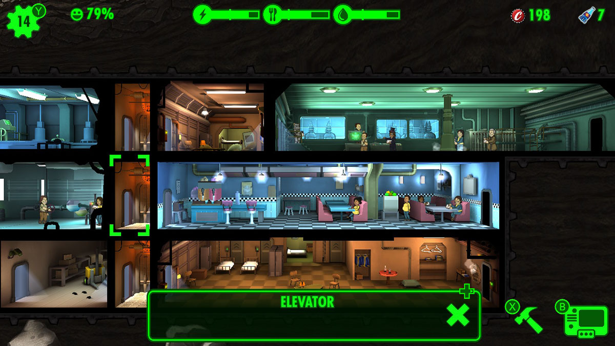 Fallout Shelter Switch