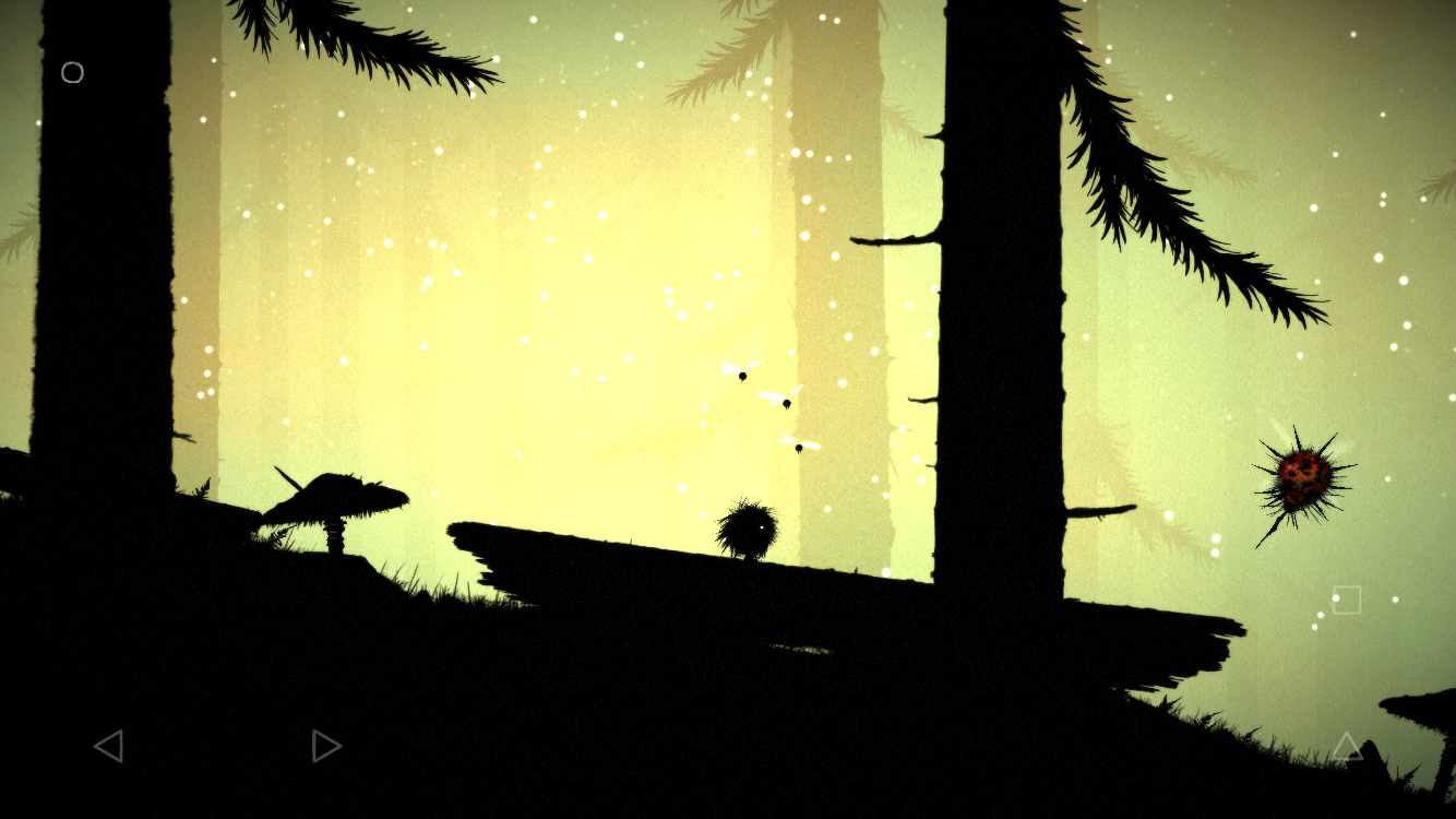 Feist iOS review screenshot - Dodging a bug