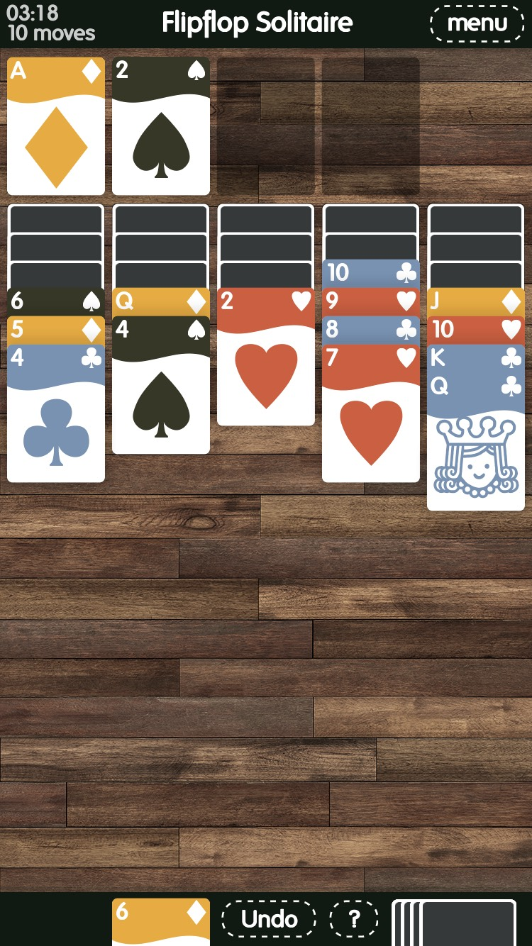 Flipflop Solitaire Screenshot 2