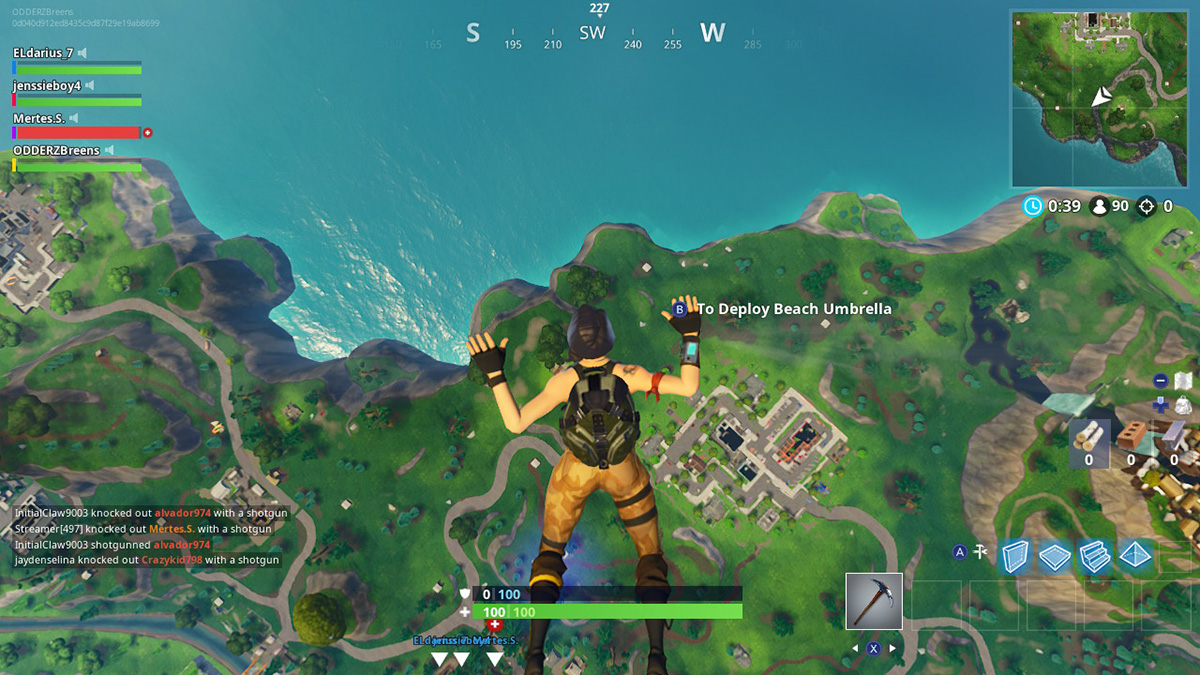 Fortnite Close Encounters