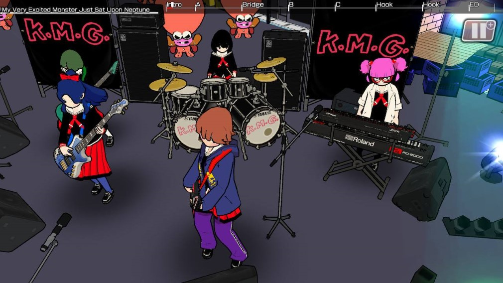 Gal Metal Switch screenshot - Performance in the street
