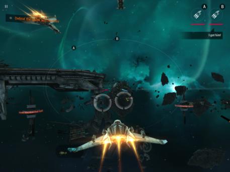 Galaxy on Fire 3 - Manticore gameplay