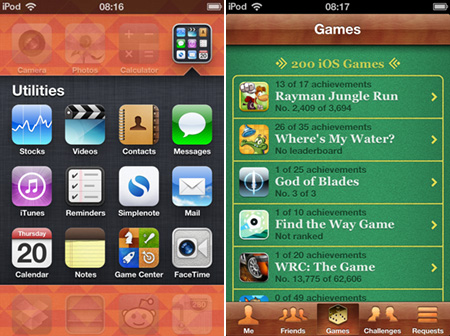 How to send Game Center challenges in iOS 6 | Articles | Pocket Gamer