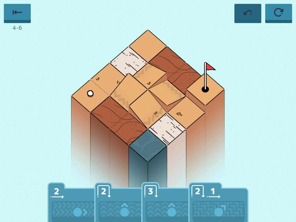 Golf Peaks iOS Screenshot So Many Different Traps