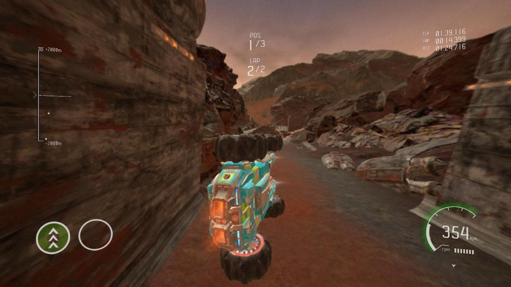 grip combat racing switch screenshot desert map flying car