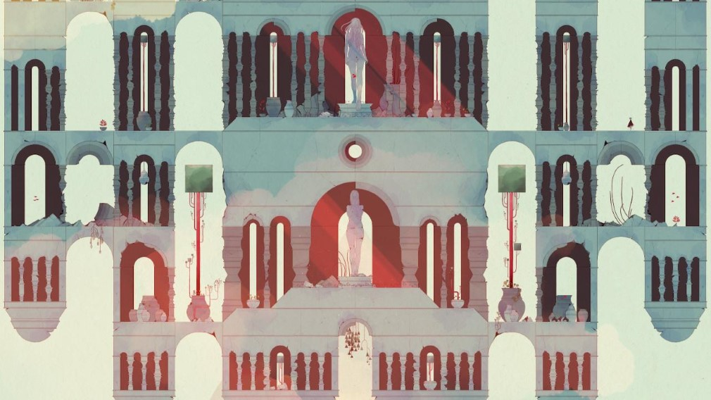 Gris Switch Screenshot Upside Down Temple