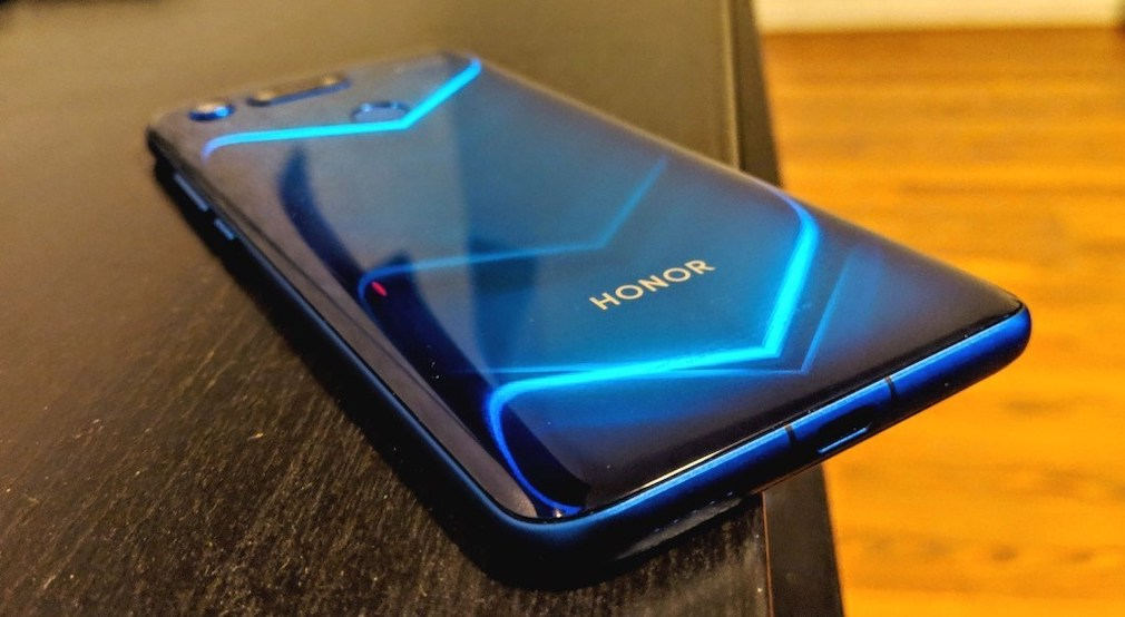 Honor View 20 screenshot - Another view of the phone