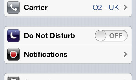 How to disable push notifications