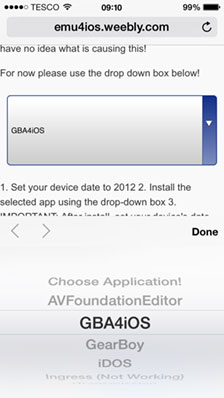 Update] iOS Emulation - How to play GBA games on your iPhone without