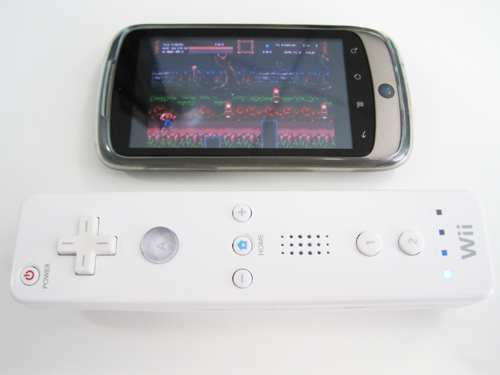 How to connect your Wii Remote to your Android phone