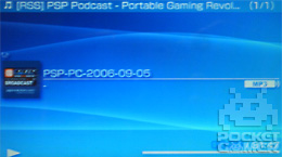 How To Podcast on PSP 6