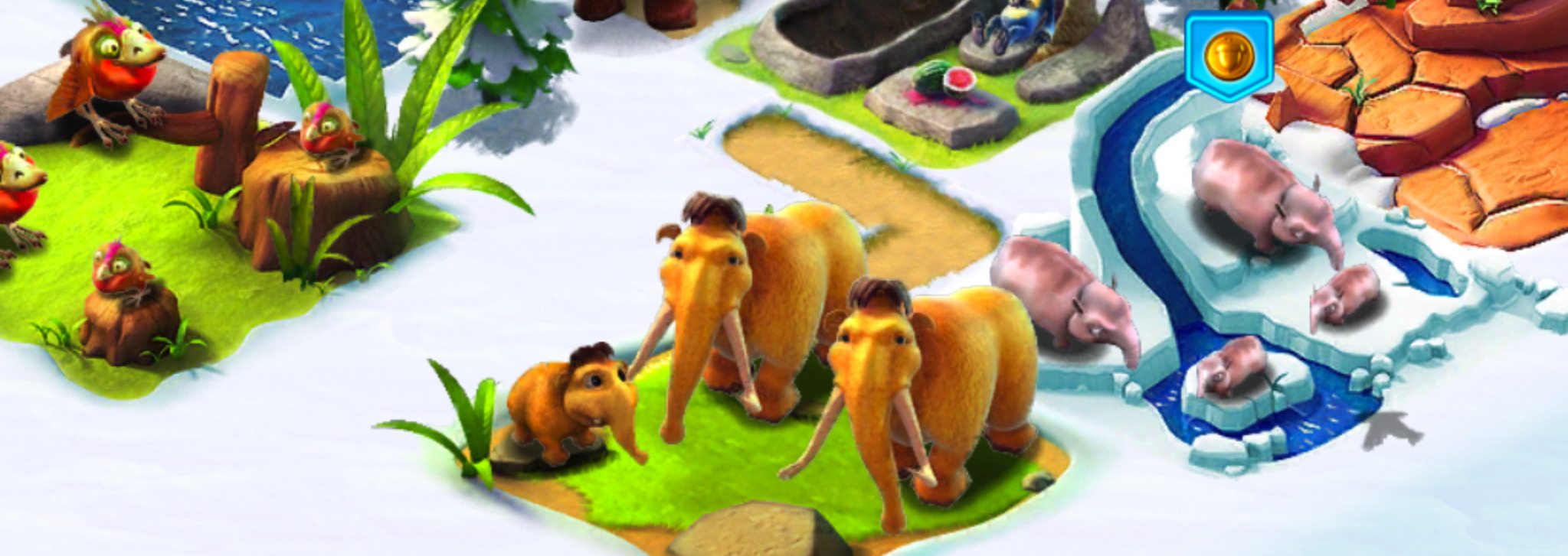 how to save the animals ice age village hints and tips