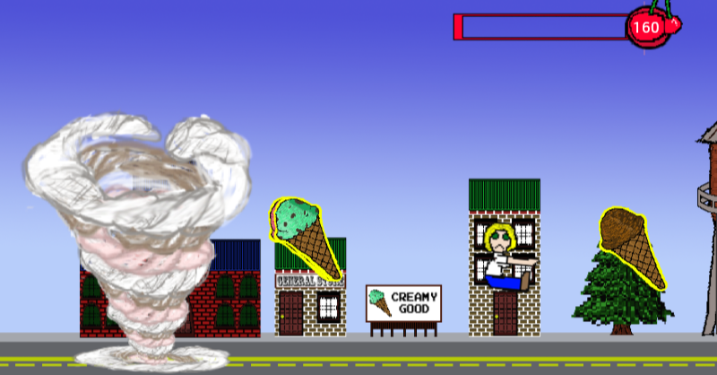 Ice Cream Tornado Screenshot