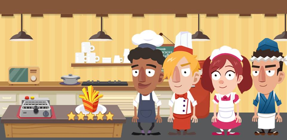 Idle Cook iOS Pre-Order Artwork