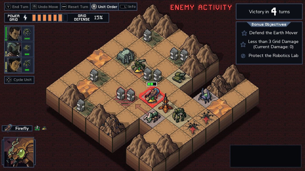 Into the Breach Switch Screenshot Earth Mover