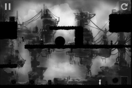 Limbo-like iOS platformer LAD sadly looks much better than it plays