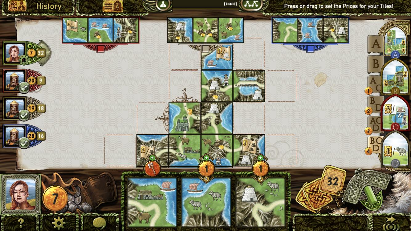 Isle of Skye iOS guide screenshot - Choosing which tile to keep