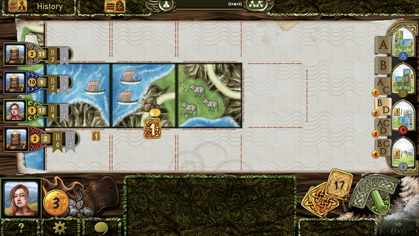 Isle of Skye iOS guide screenshot - Placing tiles