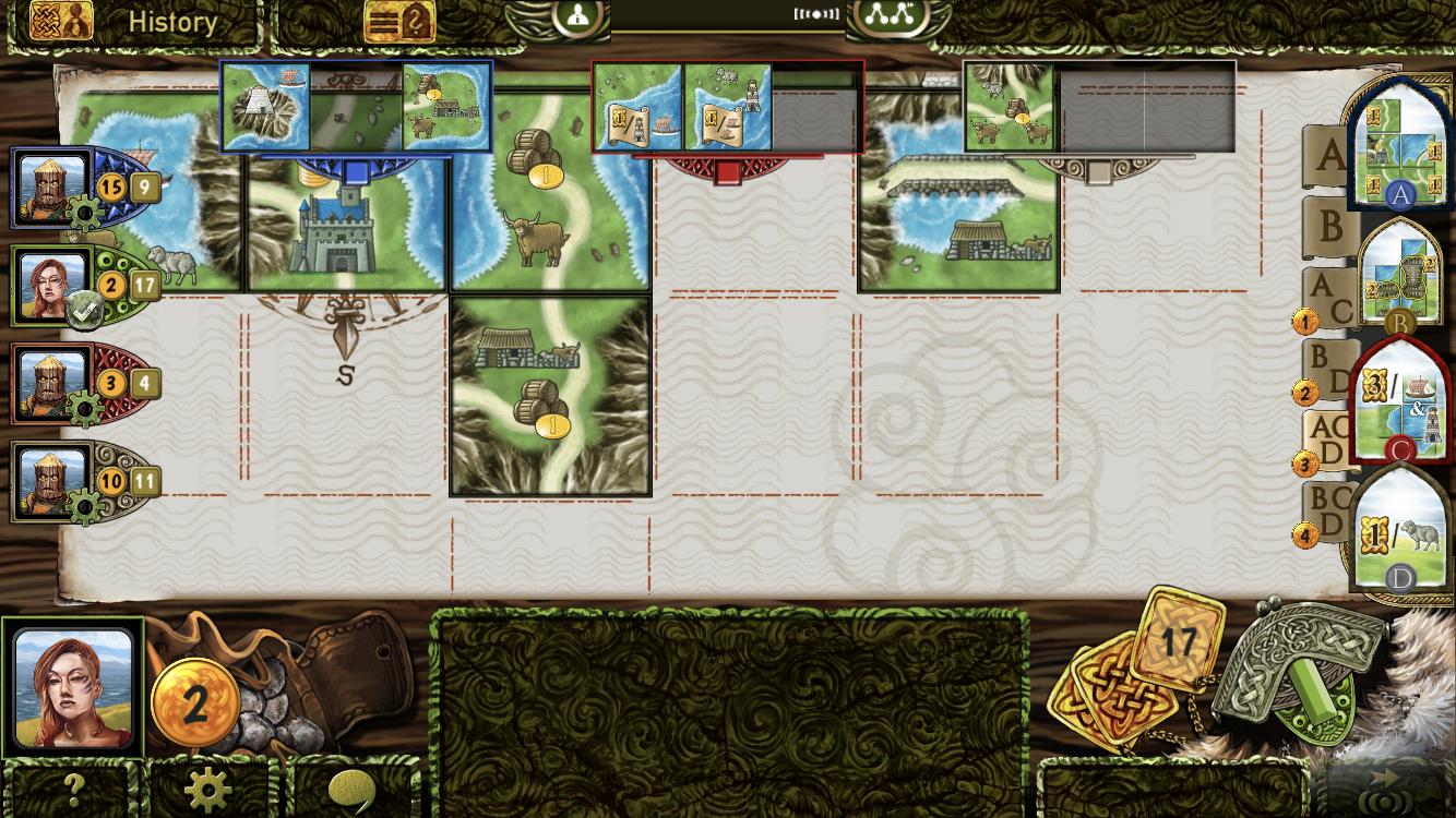 Isle of Skye iOS guide screenshot - The bartering phase