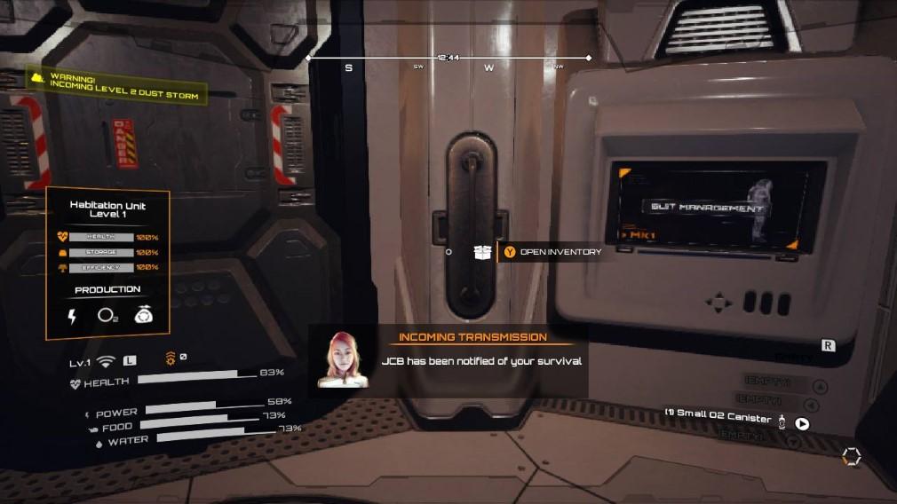 JCB Pioneer: Mars Switch Screenshot JCB Has Been Notified Of Your Survival