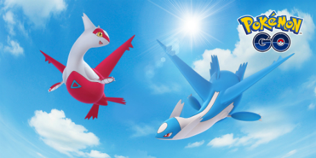 Latios and Latias in Pokemon GO