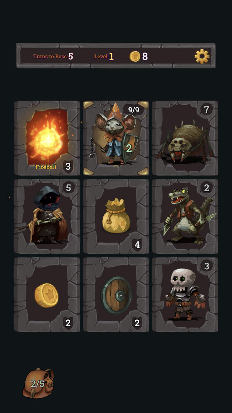 Look, Your Loot! iOS guide screenshot - Playing as the Mage