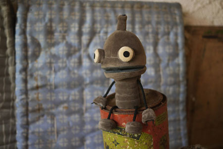 Machinarium plush
