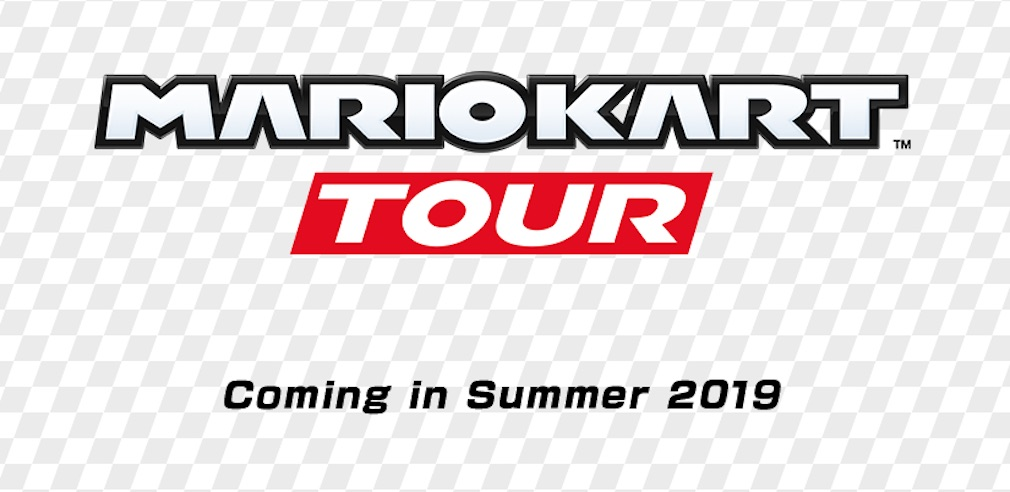 Mario Kart Tour screenshot - The game's logo