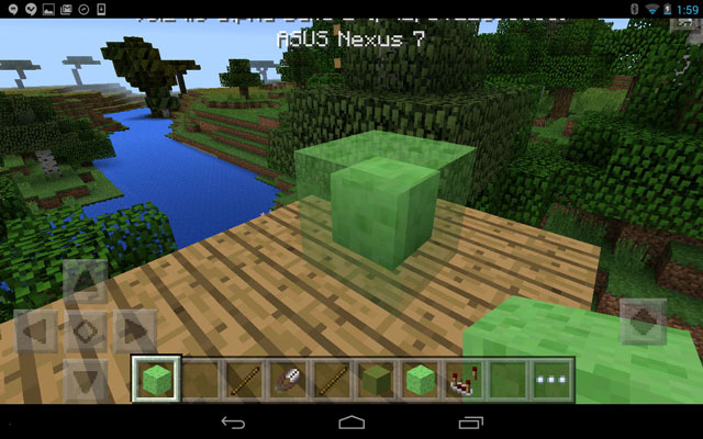 how to make a item frame in minecraft pocket edition