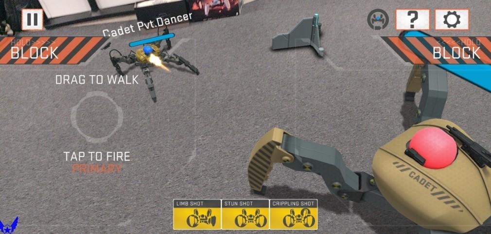 Mekamon review screenshot - Another shot from Sandbox mode