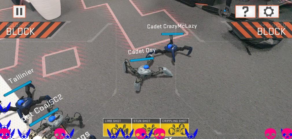 Mekamon review screenshot - Playing survival mode
