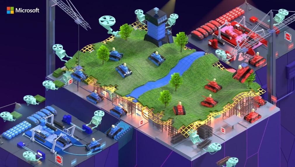 Microsoft Game Stack Art