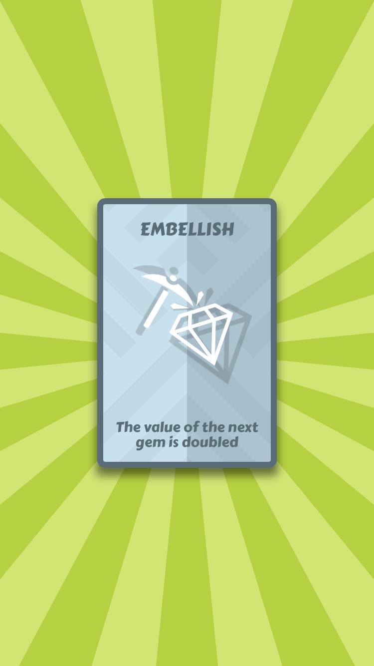 Mind Card iOS guide screenshot - Drawing a new card