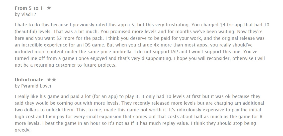 Monument Valley 1-star review