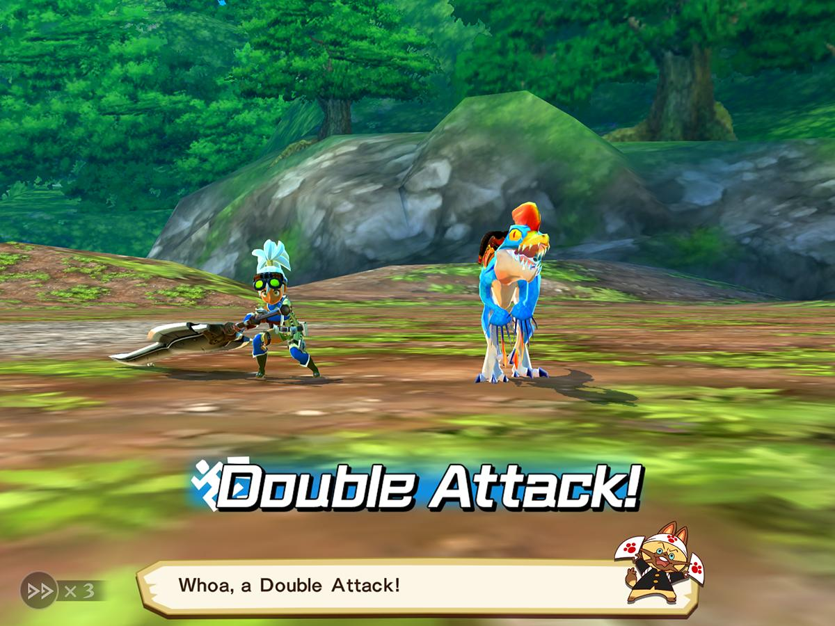 Monster Hunter Stories iPad