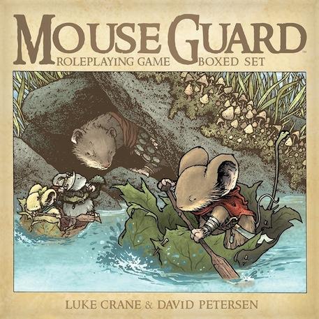 Mouse Guard RPG box
