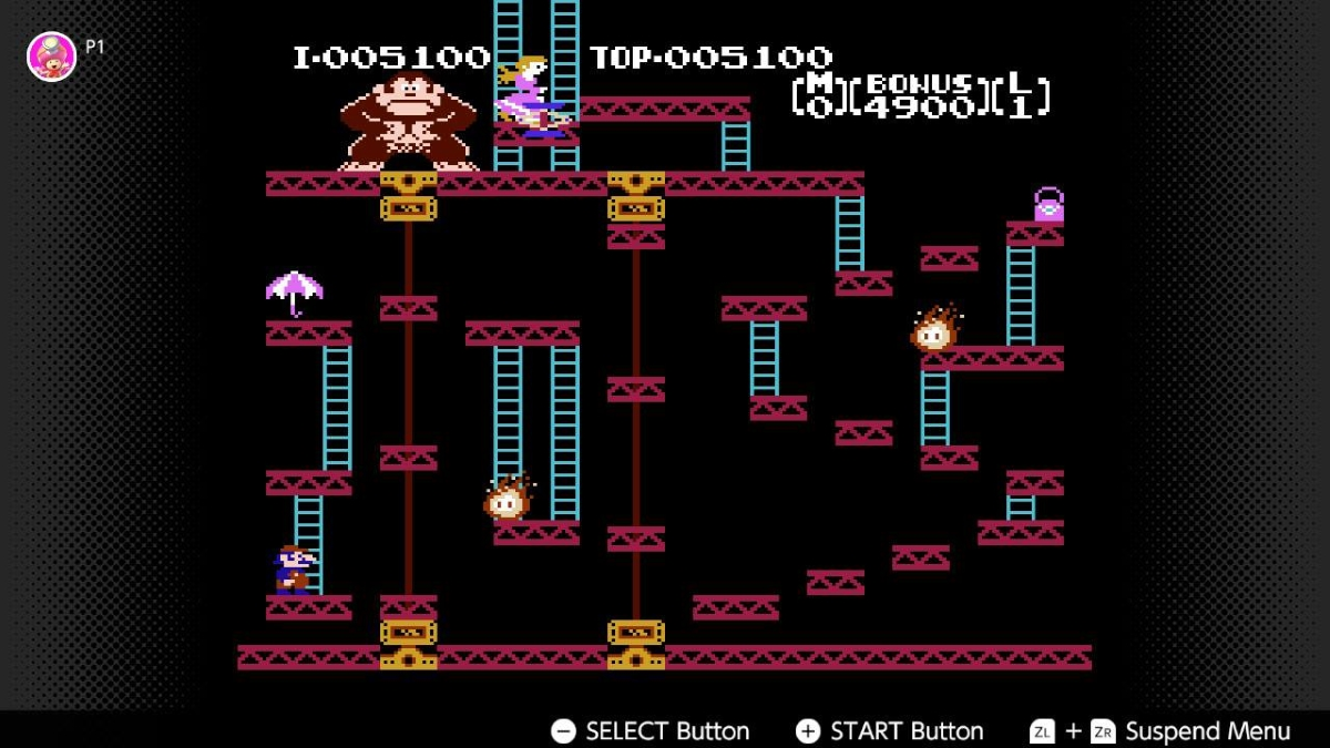 NES Switch Online Collection Screenshot Donkey Kong
